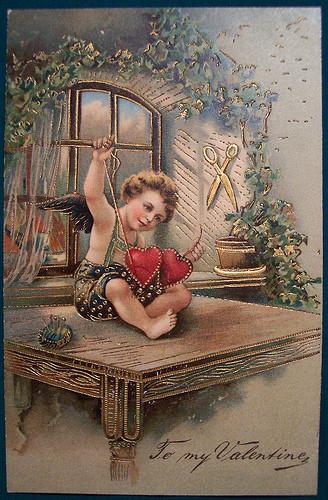 Jolies cartes vintage Saint-Valentin